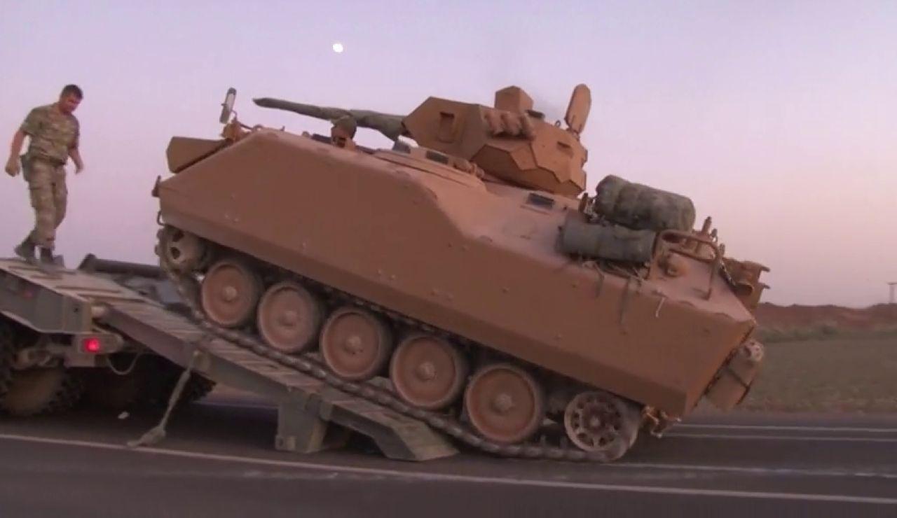 Cazas turcos han penetrado 30 kilómetros en territorio sirio