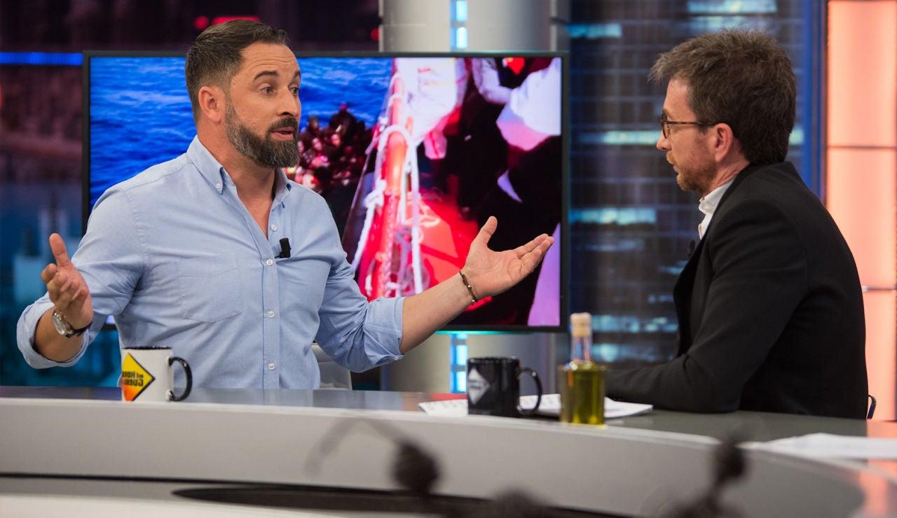 Santiago Abascal en 'El Hormiguero 3.0'