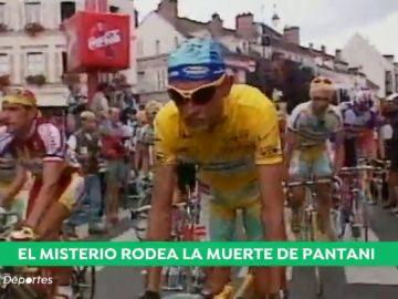 Marco Pantani en una competición