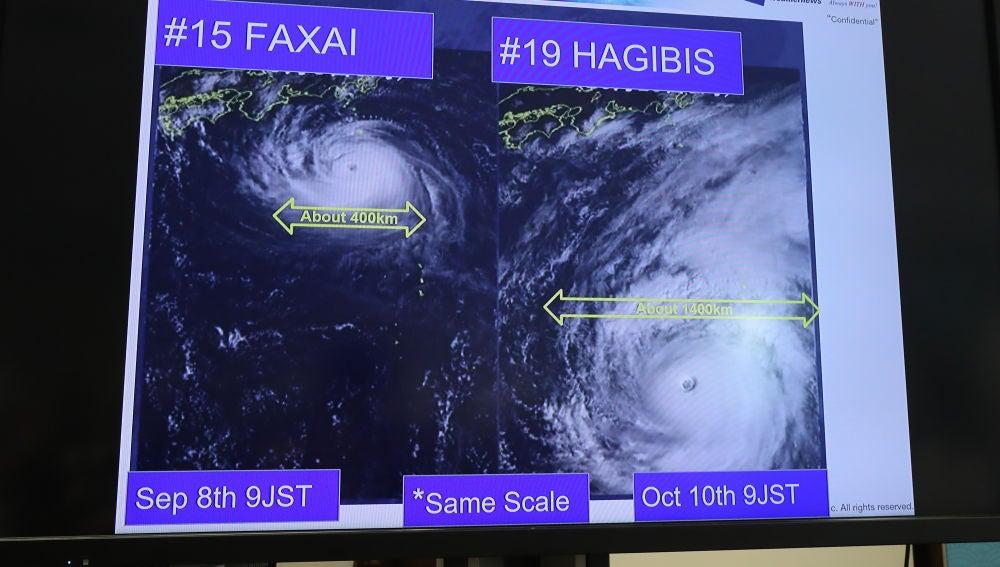 El tifón Hagibis