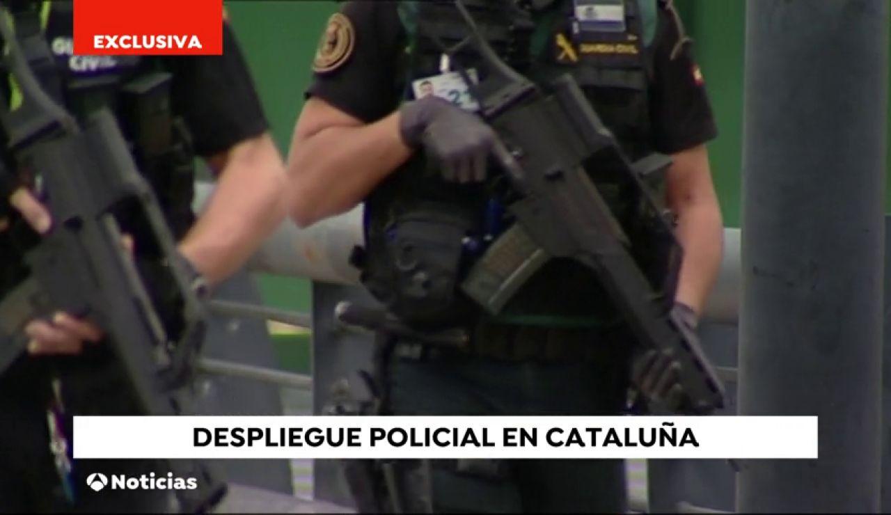 Exclusiva: Comienza el despliegue especial de la Policía Nacional y la Guardia Civil en zonas sensibles de Cataluña
