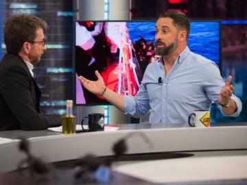 """Santiago Abascal en 'El Hormiguero 3.0': """"Con la excusa del cambio climático nos están restando libertad"""""""