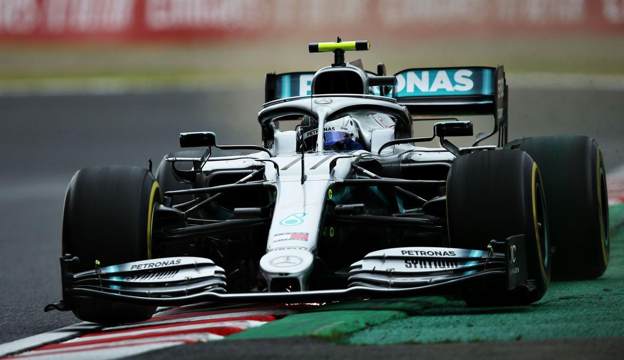 GP Japón 2019 F1: Valtteri Bottas pilota el Mercedes en Suzuka