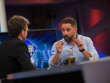 """Santiago Abascal en 'El Hormiguero 3.0': """"VOX no tiene una posición sobre Franco"""""""