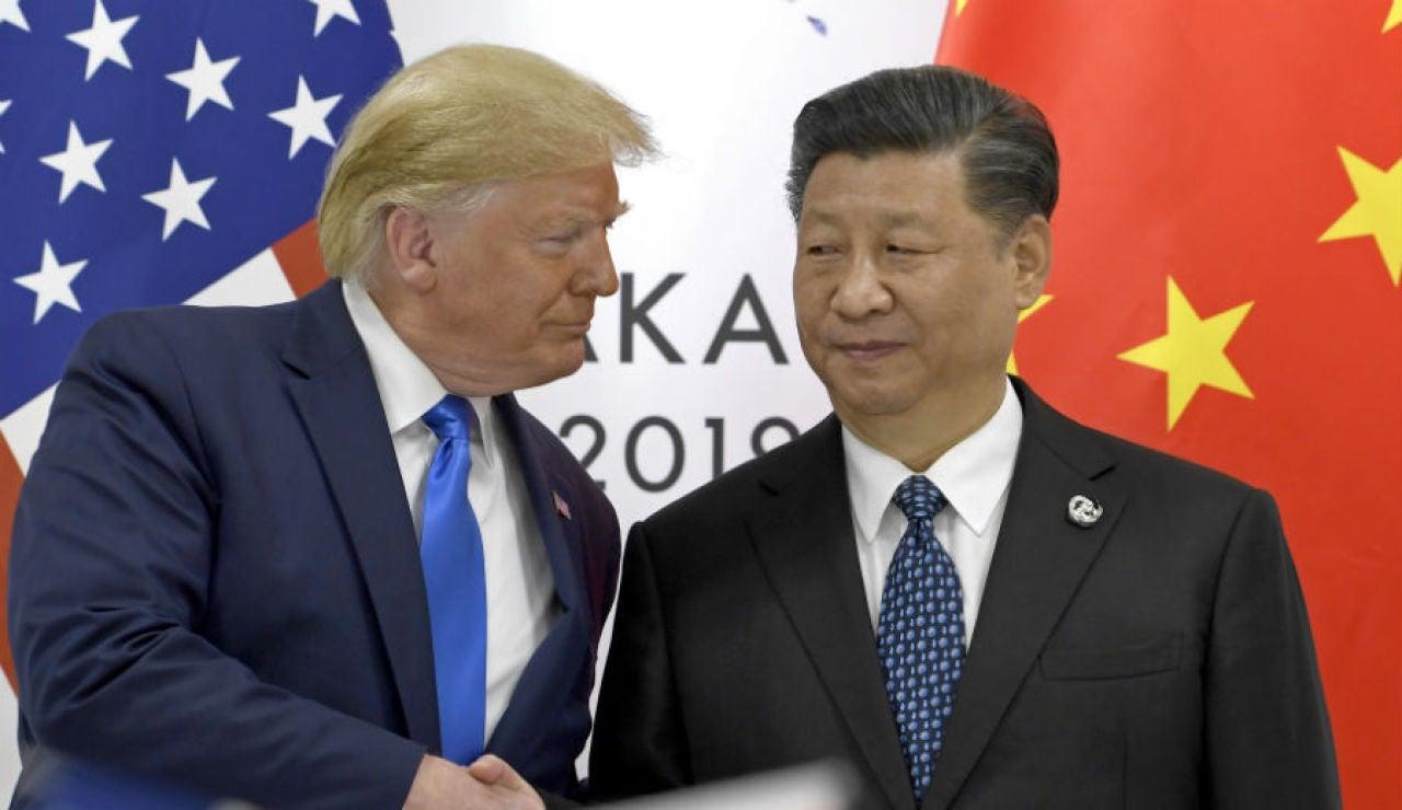 Donald Trump y Xi Jinping