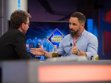 """Santiago Abascal, sobre la eutanasia en 'El Hormiguero 3.0': """"Con la vida humana no hay que terminar"""""""