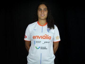 Candela Soria, jugadora del Ourense Enviália