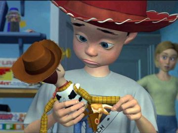 Andy en 'Toy Story'
