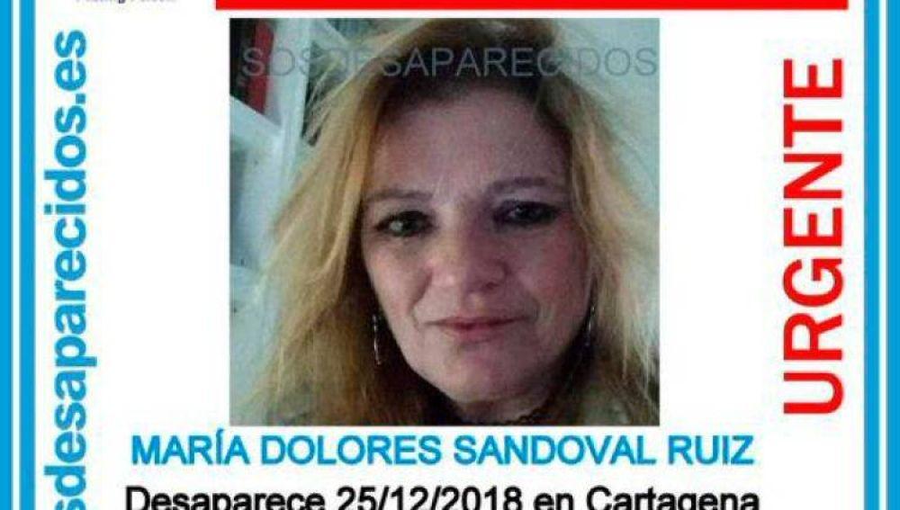 Mujer desaparecida en Cartagena