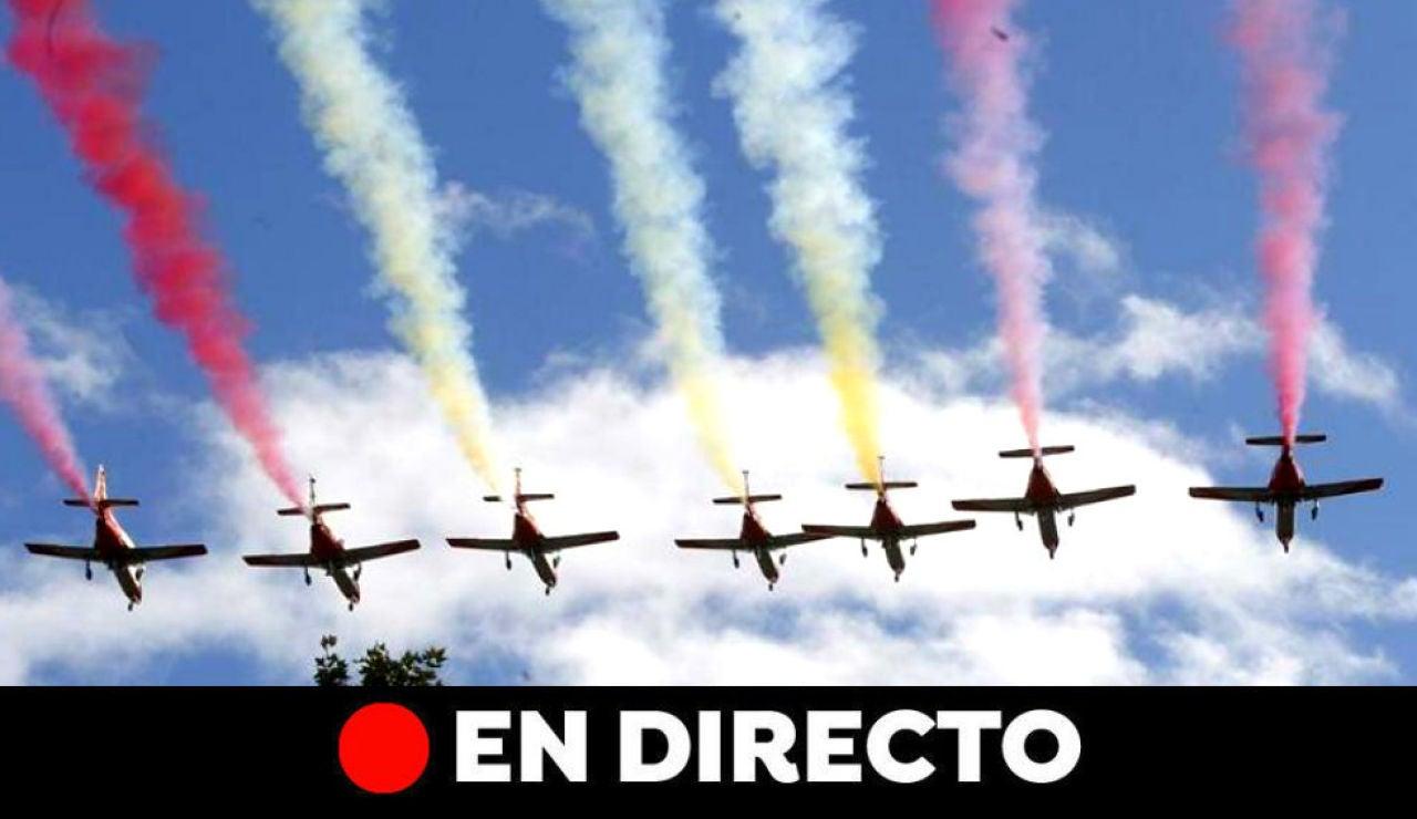 Día de la Hispanidad: Última hora del desfiles de las fuerzas armadas del 12 de octubre, en directo