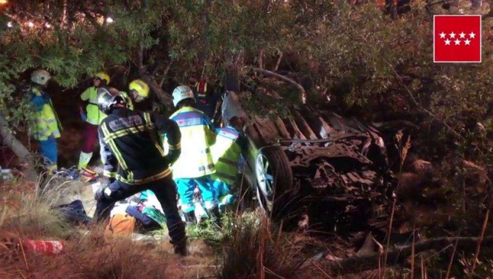 Muere un joven de 17 años en un accidente en la localidad madrileña de Manzanares del Real