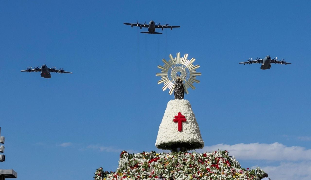 Ofrenda a la Virgen del Pilar de Zaragoza