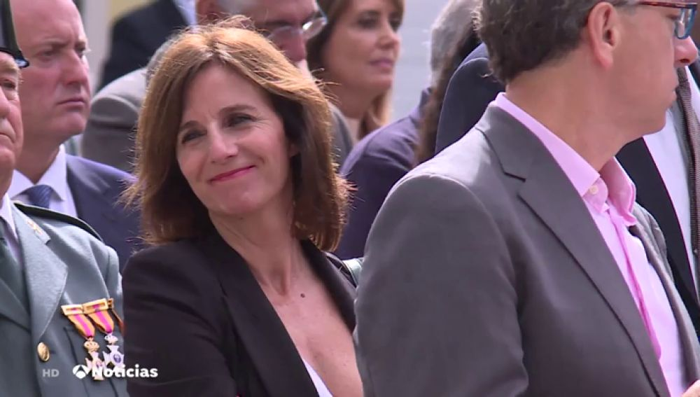 La periodista de Antena 3 Noticias Ainhoa Lujambio, premiada por la Guardia Civil