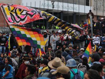 Disturbios en Ecuador