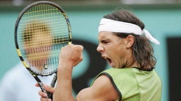 Rafa Nadal, en Roland Garros 2005