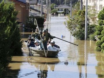 Consecuencias del tifón que ha arrasado Japón