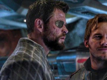 Chris Hemsworth y Chris Pratt en 'Vengadores: Endgame'