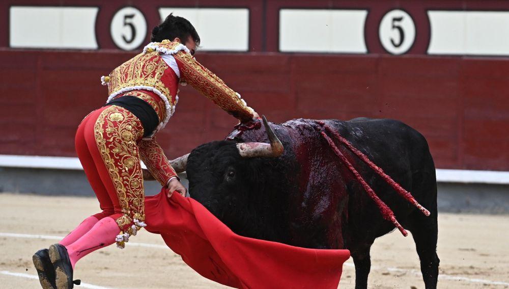 El torero Gonzalo Caballero