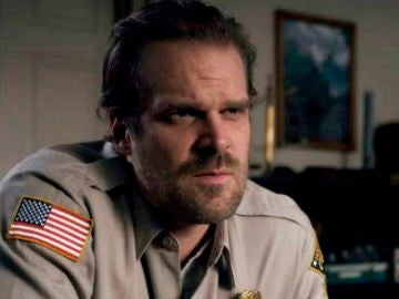 David Harbour, Hopper en 'Stranger Things'