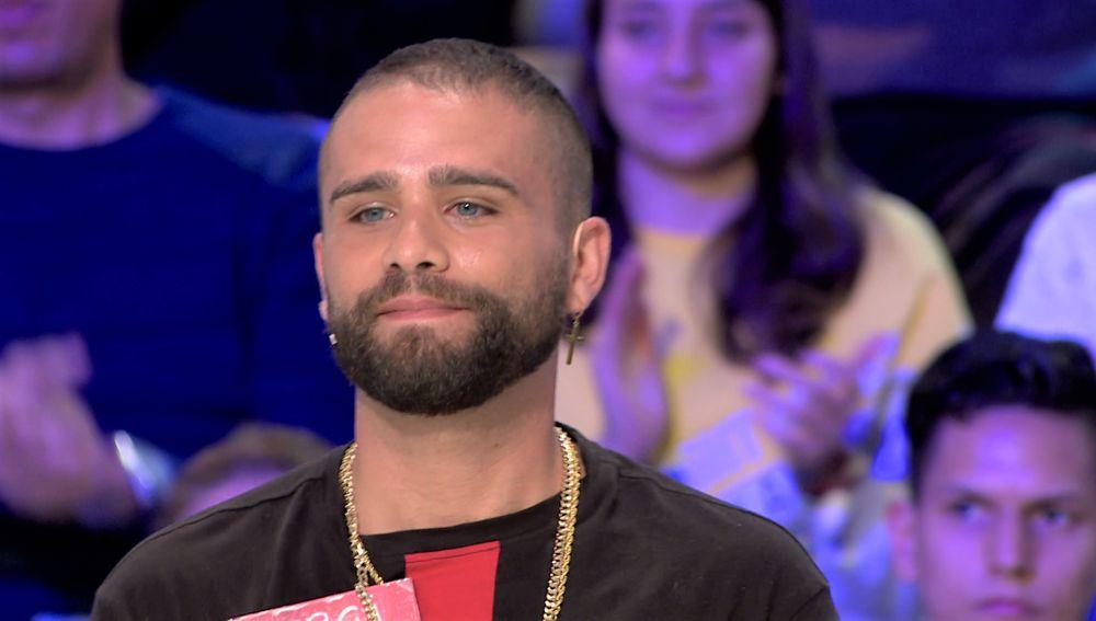 La mala suerte de Sergi, concursante de 'La ruleta de la suerte', que le dificulta dejar de fumar