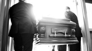 Imagen de un entierro (archivo)