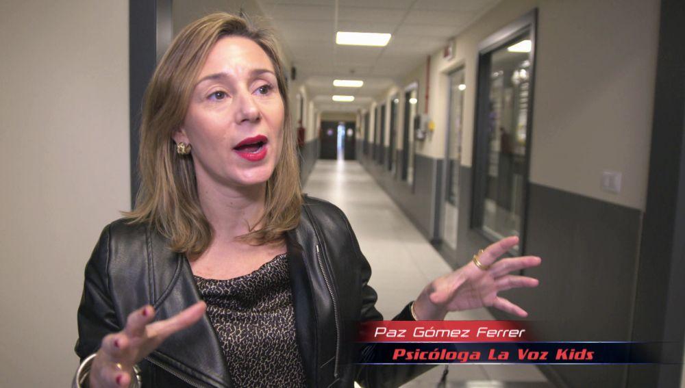 Paz Gómez, Psicóloga de 'La voz Kids', revela las claves que ayudan a los niños a enfrentar las Audiciones a ciegas