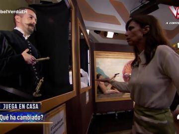 ¿Tiene Maribel Verdú ojo analítico? 'El Hormiguero 3.0' la pone a prueba con cuadros de crímenes muy reales