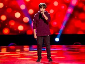 Emanuel Pop canta 'Stay with me' en las Audiciones a ciegas de 'La Voz Kids'