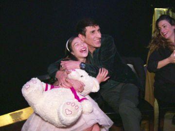 """Melani sorprende a José María en 'La Voz Kids': """"¡Ay, mi mini diva!"""""""