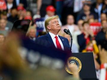 Donald Trump, en Minneapolis