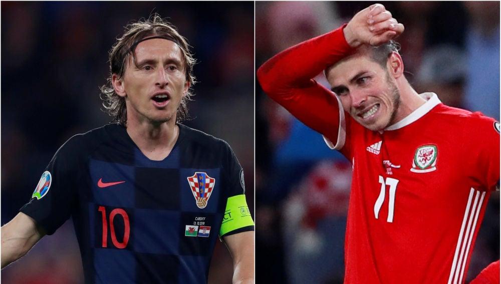 Luka Modric y Gareth Bale