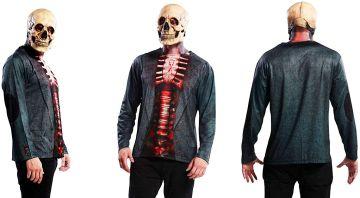 Camisa de esqueleto