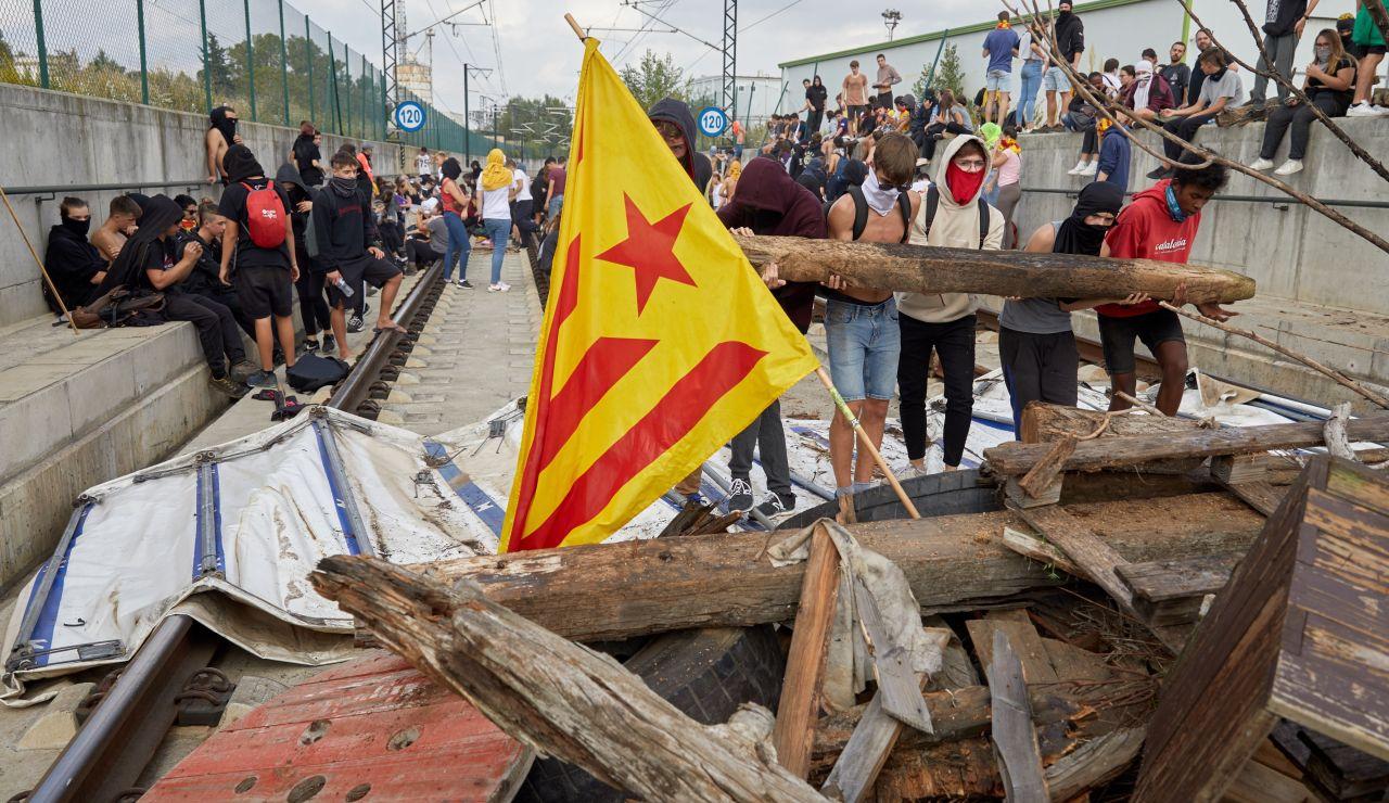 Protestas en Cataluña tras la sentencia