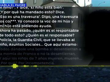 """EXCLUSIVA: El desgarrador testimonio del padre del niño asesinado en El Ejido: """"El niño le mandó a mi madre una nota de voz pidiendo auxilio"""""""
