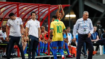 Neymar, tras lesionarse ante Nigeria