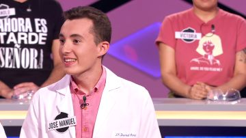 Un concursante de '¡Boom!' encuentra su vocación para ser médico en la Feria de Sevilla
