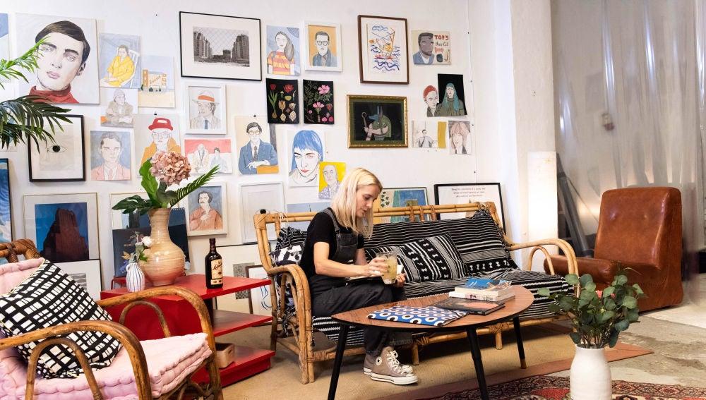 En el estudio de Carla