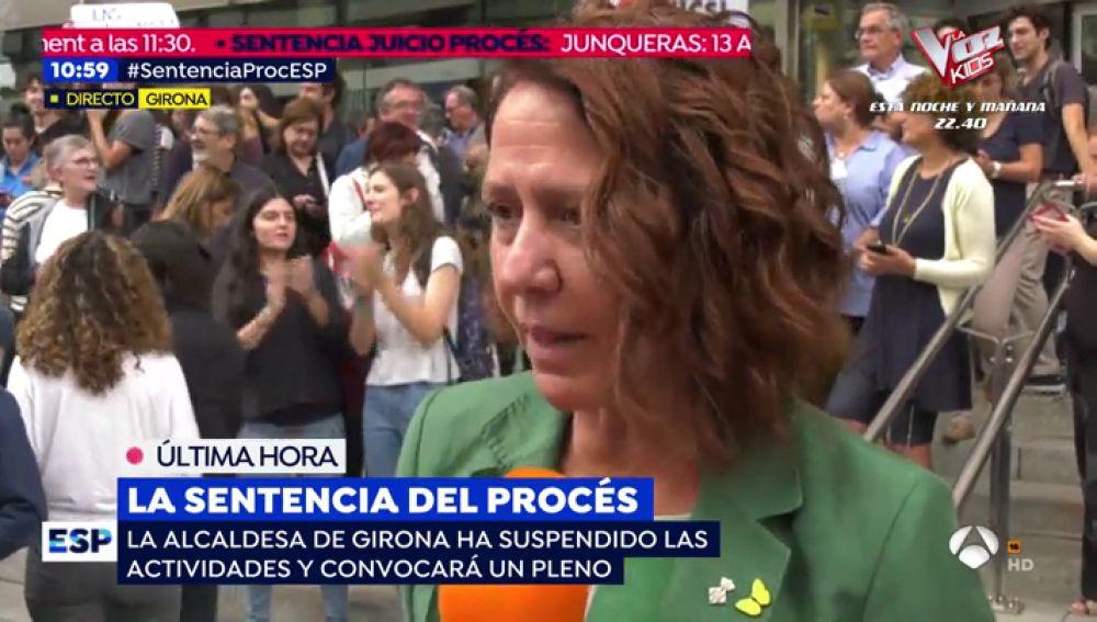 """Marta Madrenas, alcaldesa de Girona: """"La sentencia del 'procés' es injusta e inmoral"""""""