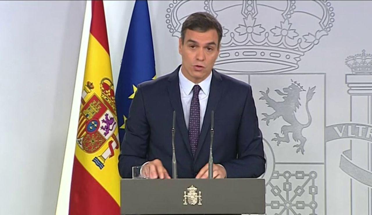 """REEMPLAZO Pedro Sánchez garantiza el """"íntegro cumplimiento"""" de la sentencia del 'procés'"""