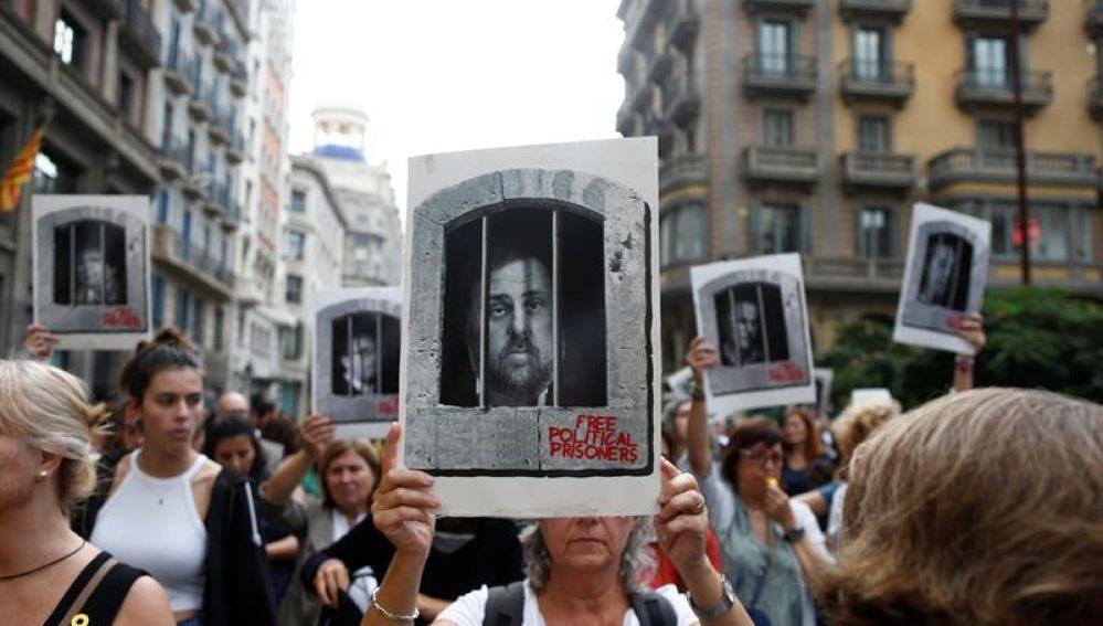 Protestas tras la sentencia del 'procés'