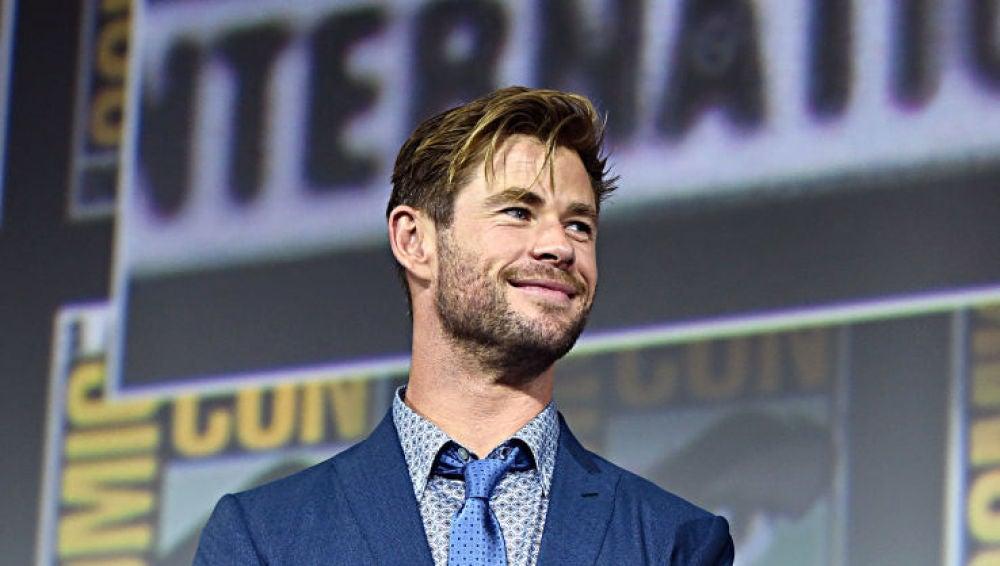 Chris Hemsworth en la última Comic Con