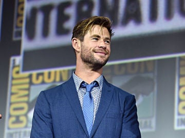 Chris Hemsworth en la última Comic Con