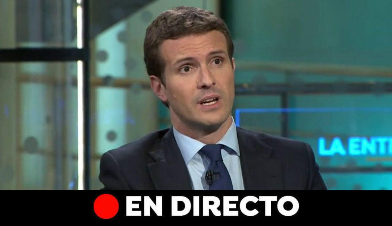 Elecciones generales 2019: Entrevista a Pablo Casado, en directo
