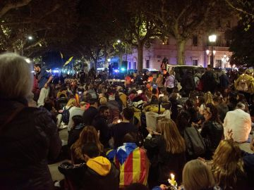 Cargas en Lleida contra los manifestantes