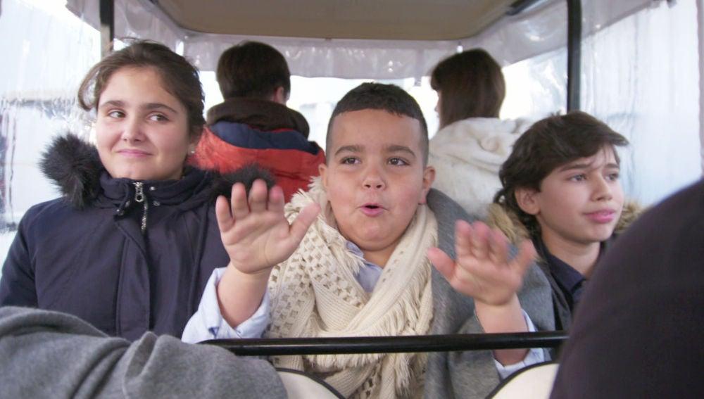 El buggy de 'La Voz Kids', un auténtico parque de atracciones para los niños