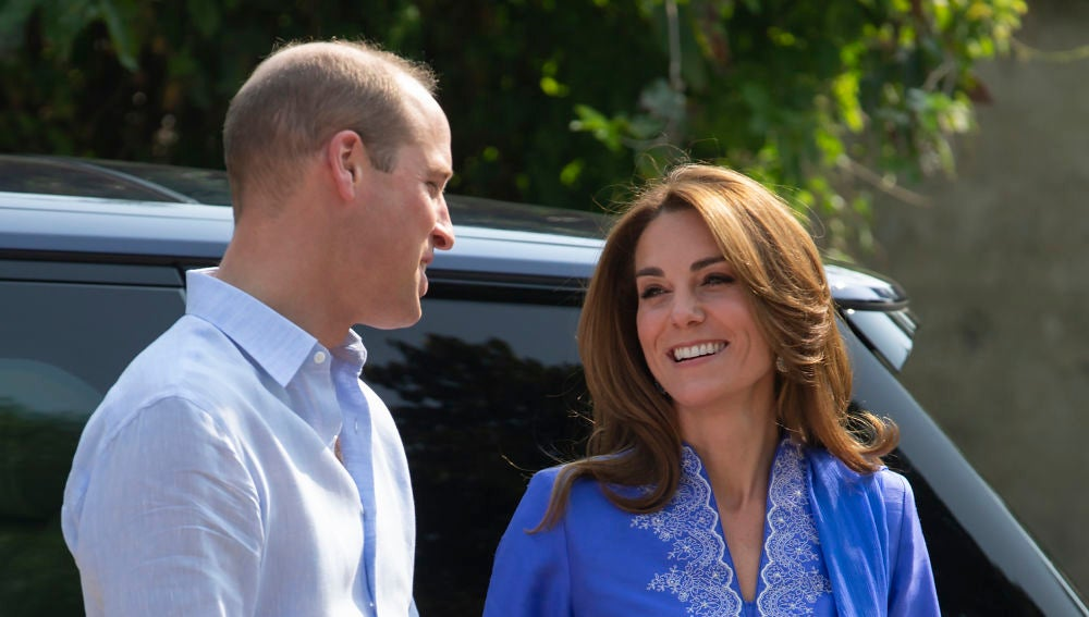 Kate Middleton y el príncipe Guillermo