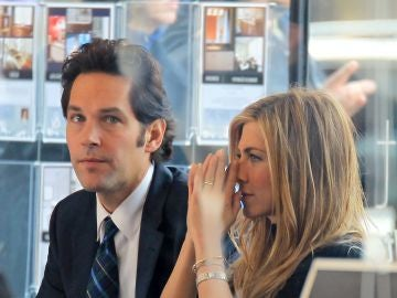 Jennifer Aniston y Paul Rudd