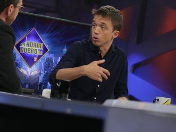 Entrevista a Íñigo Errejón en 'El Hormiguero 3.0' en directo