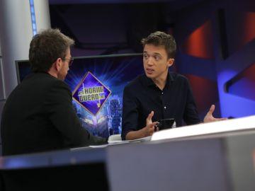Entrevista a Íñigo Errejón en 'El Hormiguero 3.0'