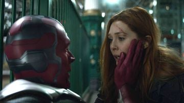 Visión y Bruja Escarlata en 'Vengadores: Endgame'